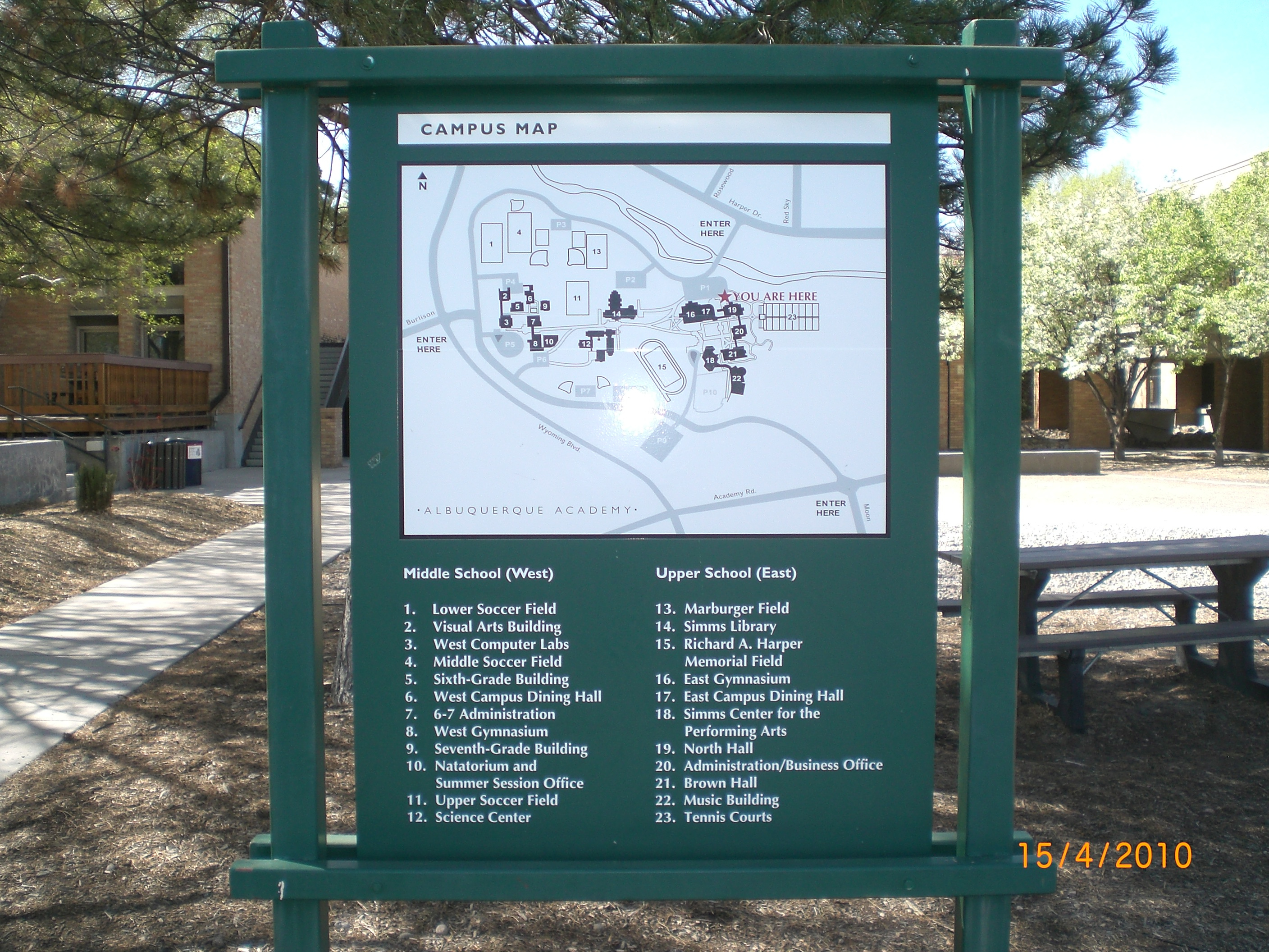Abq Academy Campus Map The Sign Store Nm