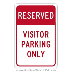 "18"" x 12"" Parking Signs"