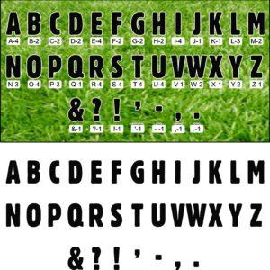 Yard Signs - Letter Sets